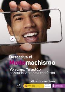 Cartel campaña contra la violencia machista del Gobierno de Canarias