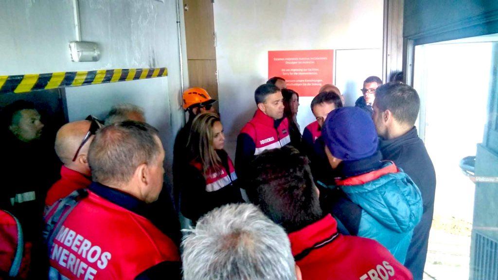 Compartiendo información con los rescatadores